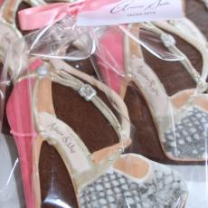 aruna seth cookie, shoe cookie, fashion biscuit