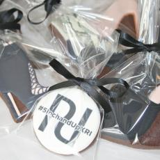 River Island shoe biscuits