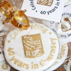 RBC biscuit, corporate gift, corporate favour