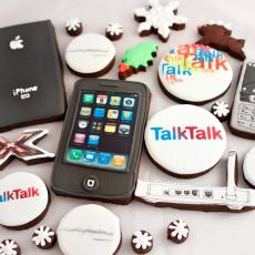 phone biscuit talk talk cookies