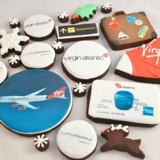 Virgin cookies, Virgin biscuits , Virgin Atlantic cookies