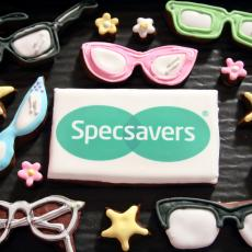 specsavers cookies, glasses cookies, glasses biscuits