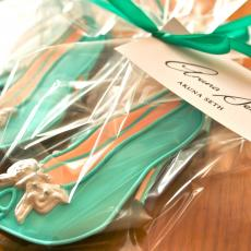 Aruna Seth cookies, Aruna Seth biscuits, Shoe cookie