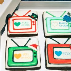 fox network cookies, tv biscuits, corporate favours
