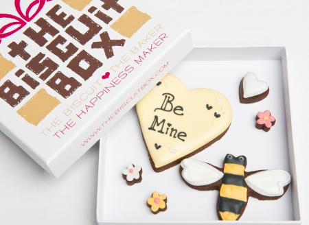 Valentines cookies, Bee mine cookie, bumble bee cookie heart cookies,
