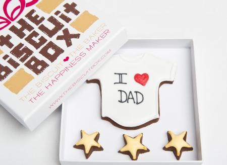 t shirt cookie, fathers day biscuit, fathers day gift