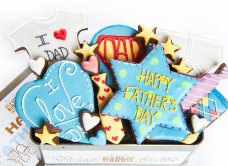 Father's Day biscuits, Dad cookies, Fathers Day biscuits by The Biscuit Box