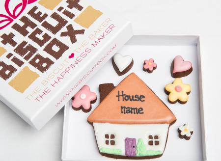 Home House sold Iced Biscuit cookie by The Biscuit Box