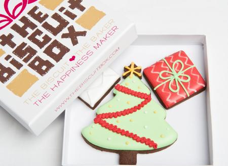Christmas cookie, christmas tree biscuits christmas gift