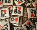 I heart 80s 30th birthday favours